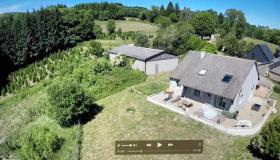 Beautiful 4 bed 2 bath Morvan villa with views and stables