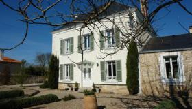 A Maison de Maitre on the edge of a hamlet and surrounded by beautiful open fields