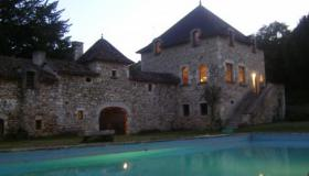 Fully renovated XIVth Century Chateau with pool, private forest and big park