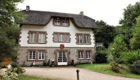 For sale in Normandy: Chic estate with thatched villa and 2nd house on 3 acres