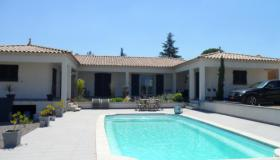 Nice spacious villa in Gard for sale with pool and heat pump